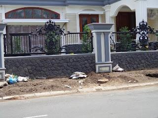 Jasa Tukang Taman Surabaya - Batu Alam 7