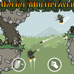 Screenshot Doodle Army 2: Mini Militia