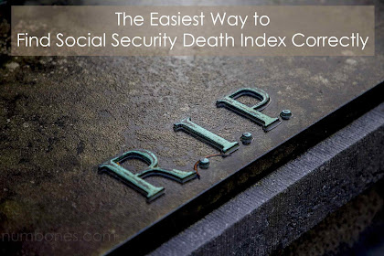 The Easiest Way to Find Social Security Death Index Correctly
