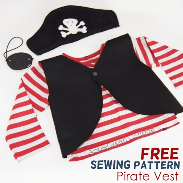 Diy Pirate Costume - Free Pattern - AppleGreen Cottage