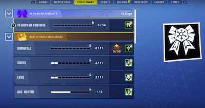 14 Days of Fortnite, Guide, Challenges, Earn Rewards
