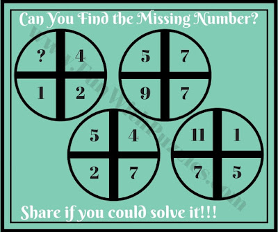 Maths Fun Brain Teaser for kids