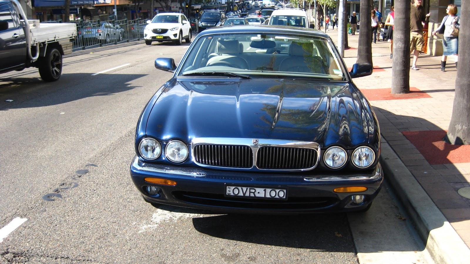 Aussie Old Parked Cars: 1998 Jaguar XJ8 (X308)