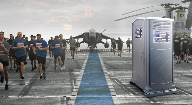 Portable Toilets for Military Events