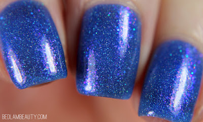 Seventy Seven Nail Lacquer Third Eye | Polish Pickup January 2018 | Crystals & Gemstones