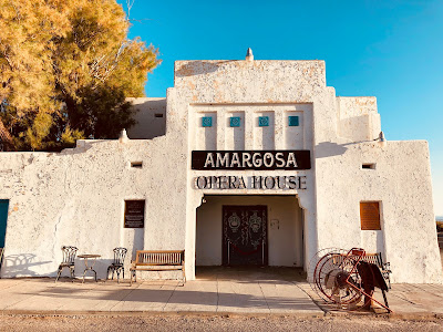 Amargosa Opera House Theater entrance.
