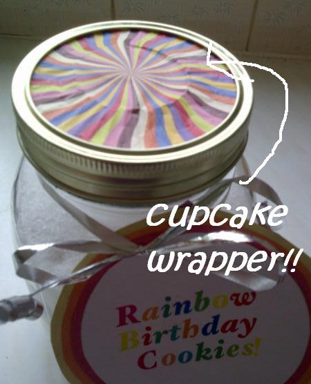 United Cakedom: Rainbow Birthday Cookie Jar