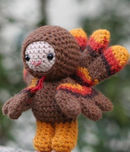 Crochet Amigurumi Pattern Turkey