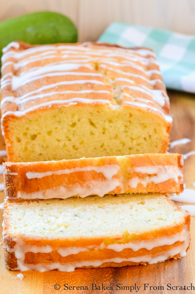 Lemon Zucchini Bread Recipe with Lemon Glaze