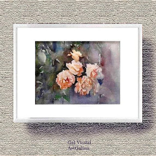 """🔎Увеличить Details Rose Watercolor Rose pictures Frame Rose decor Small picture Rose drawing White rose picture Art rose Rose bouquet Rose artwork Light pink rose Light pink bouquet Pink rose painting  Watercolor painter goods are, by nature, pre-loved (pronounced """"used""""). They can have some minor flaws. We describe any flaws to the best of our ability. All items are sold as is.  Picture in the frame Size 18 x 24 cm 7x9.4 in Original Watercolor by Galina Vindalovskaia  We do our best to accurately describe and photograph our items. Color on computer monitors may vary. If you have questions or are very particular about colors, please send a message prior to purchase and we will be happy to give you the best, most detailed description we can.  Attention international customers.   Your order will be shipped via First class mail.  It can be tracked within my country to custom border.  Sometimes it can be tracked in your country but it's not guarantee.   I'm not responsible for the lost international order.   Please contact for chaining the shipping price  By purchasing this item you agreed with my shop policies regarding international orders.   Orders will be shipped to the address provided by the buyer.  If the address is not correct and the package returned, additional shipping charges will apply  All international packages will be custom declare to reflect the purchased value.  If your country has a limit what can be shipped in - you might have custom fees. + More Payments  Secure options      Etsy keeps your payment information secure. Etsy shops never receive your credit card information. Customs and import taxes  Returns & exchanges I gladly accept returns, exchanges, and cancellations Contact me within: 3 days of delivery Ship items back within: 14 days of delivery Request a cancellation within: 12 hours of purchase More details Познакомьтесь с владельцем магазина ArtGalina. Узнать больше о магазине и условиях.  Galina Vindalovskaia Rose Watercolor Rose pictures """