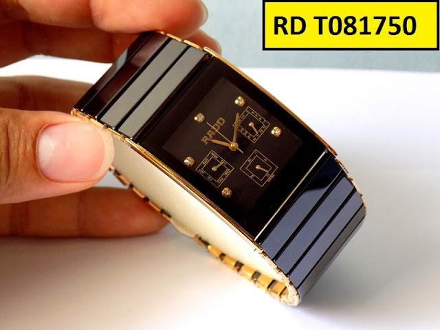 Đồng hồ nam mặt chữ nhật Rado RD T081750