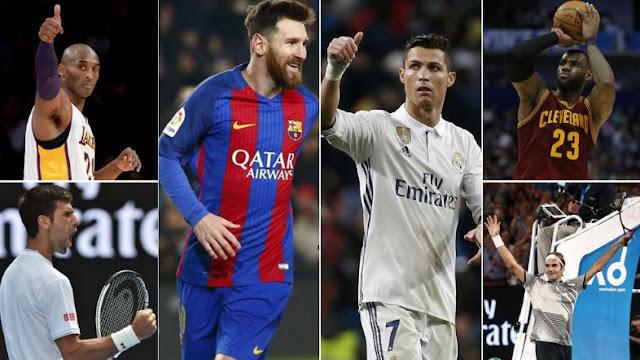 Os atletas mais bem pagos do Mundo