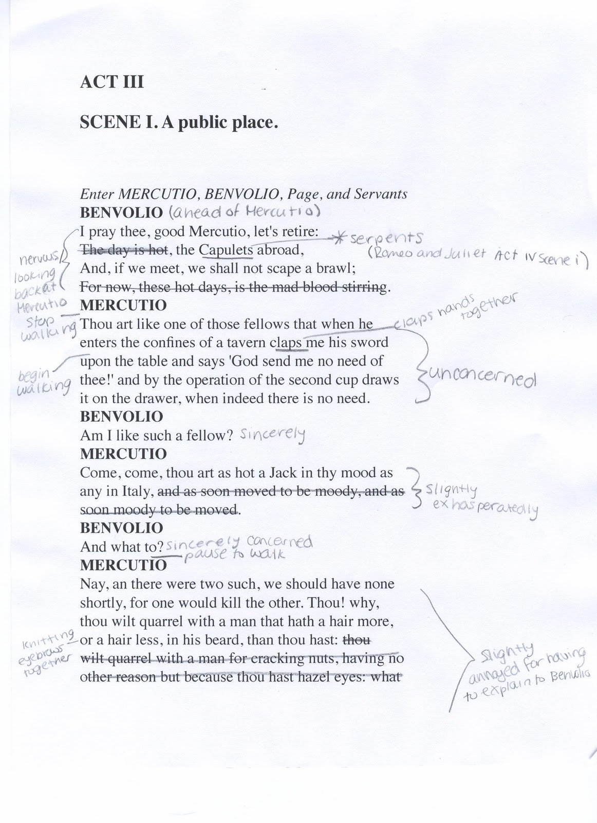 Romeo And Juliet Grade 9 Essay