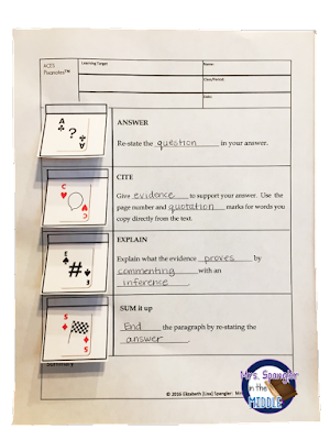Pixanotes™ are a blend of traditional two-column notes and interactive notebooks!