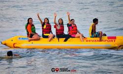 aktivitas watersport di batu karas