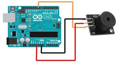 Rangkaian Menggunakan buzzer pada Arduino