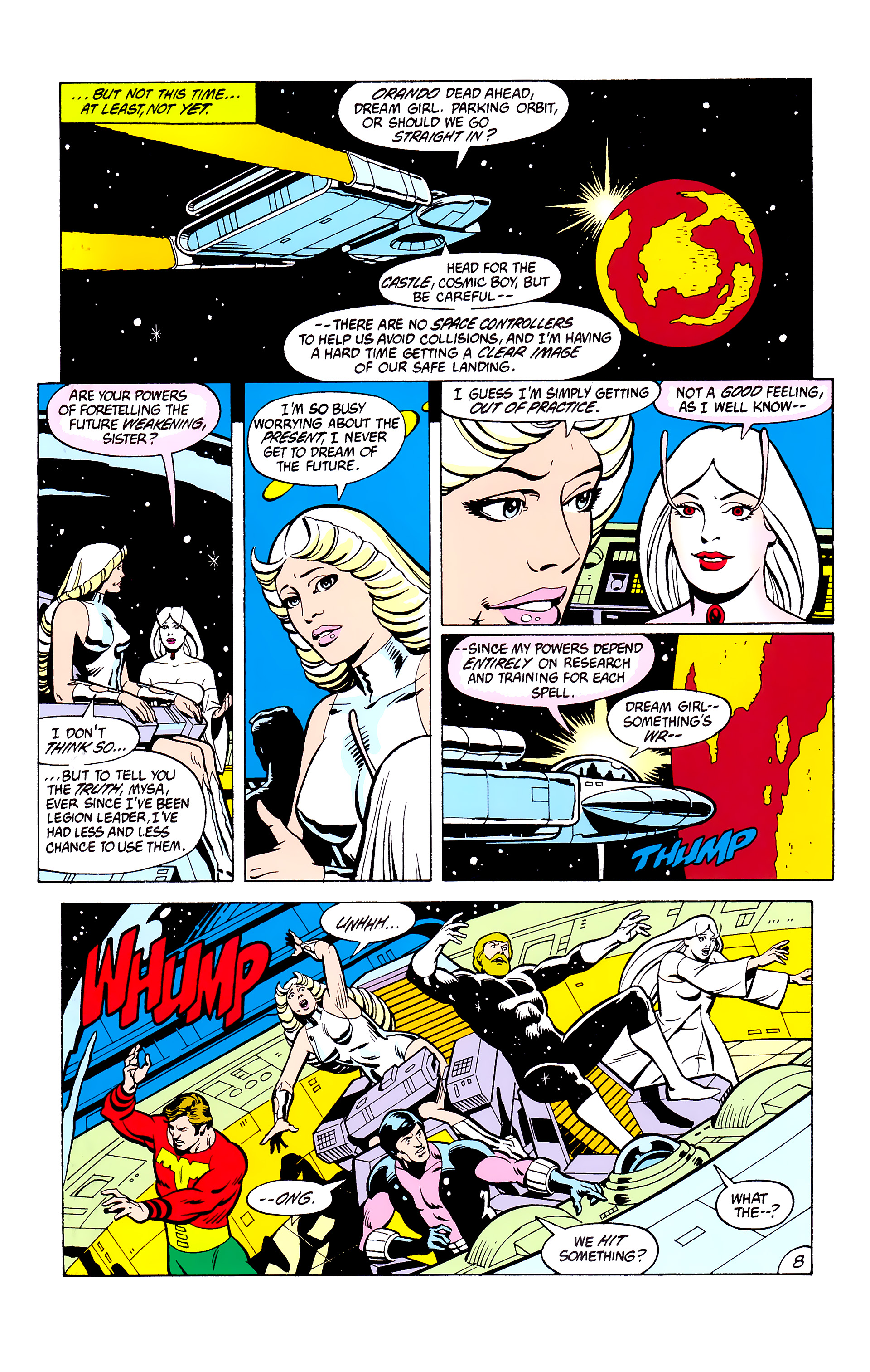 Legion of Super-Heroes (1980) _Annual_2 Page 8