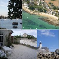 Location de villa vue mer brignogan plage les pieds dans l'eau