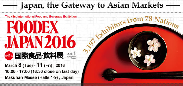 FOODEX JAPAN, largest food exhibition in Asia-Pacific, at Makuhari Messe