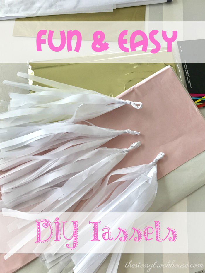 Fun & Easy DIY Tassels