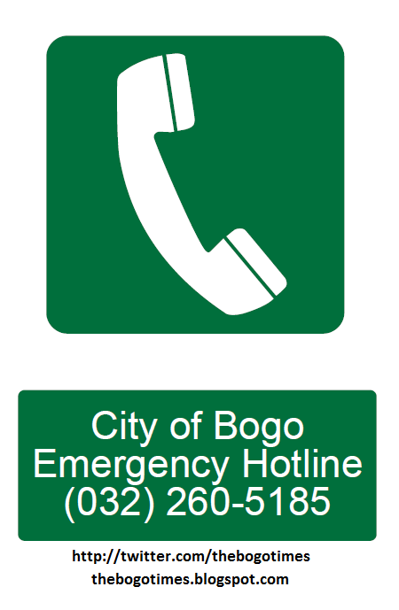 City of Bogo Disaster Emergency Hotline