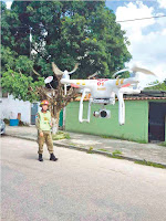 Drones ajudam operações do Corpo de Bombeiros no Rio