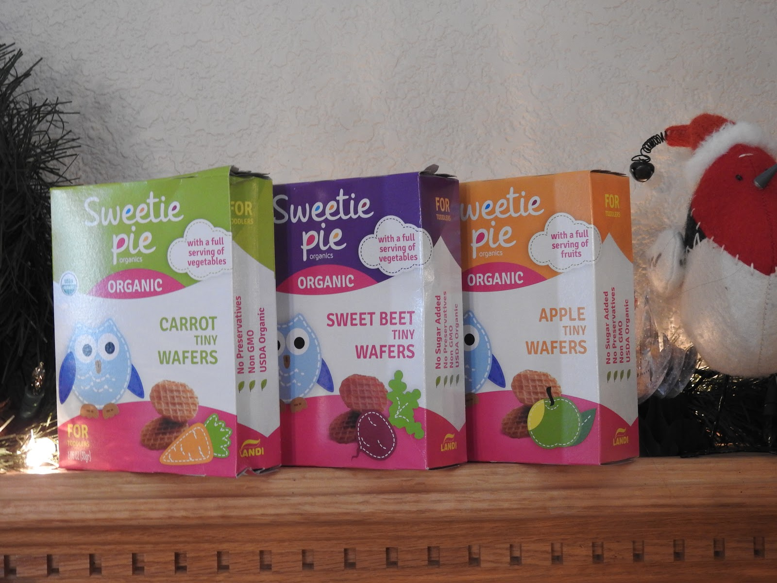 Sweetie Pie Organics Snack favors