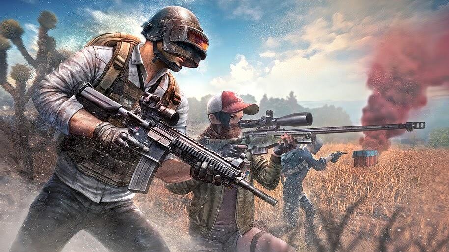 PUBG, Squad, Guns, 4K, #7.805