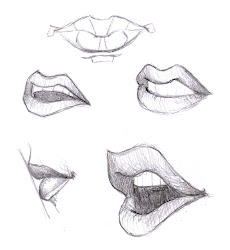 mouth lips drawing sketches mouths draw sketch drawings cool sketching face easy lip anime realistic april 1000 disney structures features