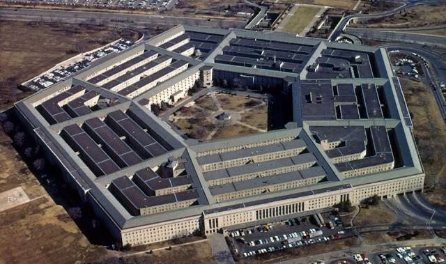 Gedung Kementerian Pertahanan Amerika Serikat, Pentagon