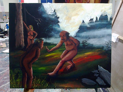 Will Paint for Food (or possibly beer): Taistelevat metsot