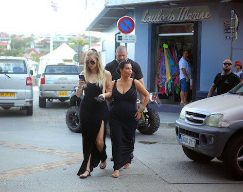 Kim, Kendall Gimme a break in St. Barts