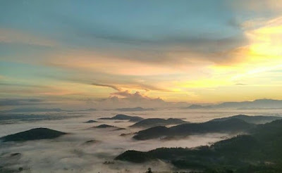 Bukit Sepancong berdekatan dengan bukit jamur, tidak terlalu jauh