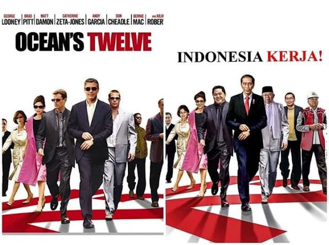 Viral Meme Indonesia Kerja ala Film Ocean's Twelve, Padahal Itu Cerita Geng Maling