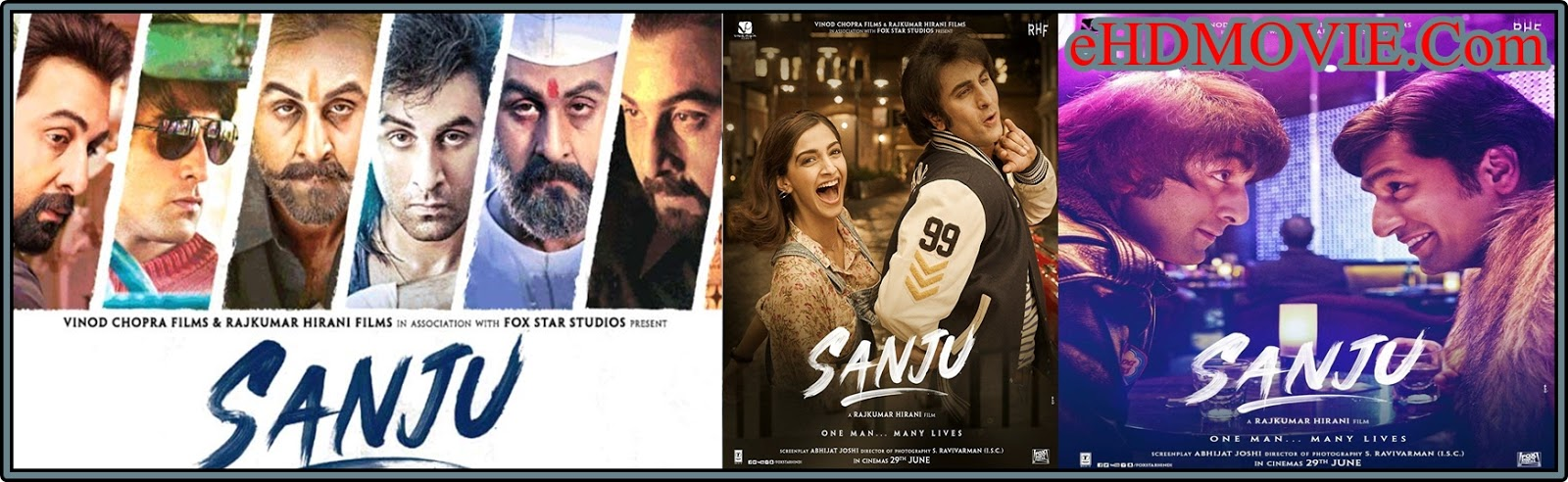 Sanju 2018 Full Movie Hindi 1080p – 720p – HEVC – 480p ORG WEB-DL 200MB - 450MB – 700MB – 1.4GB – 2.4GB ESubs Free Download