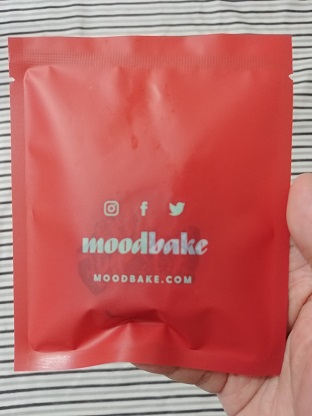 Mood Bake Cookies holiday edition red design chocolate chip mini bites