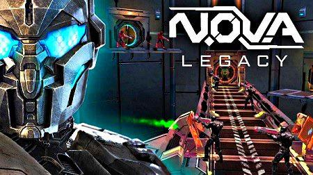 N.O.V.A Legacy- juego shooter fps para móviles