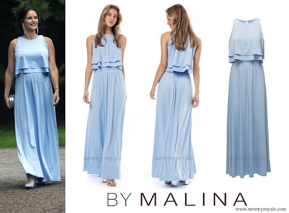 Princess Sofia wore a By Malina Cala gown