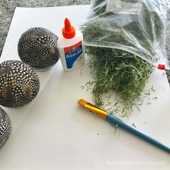 Moss Covered Ball supplies