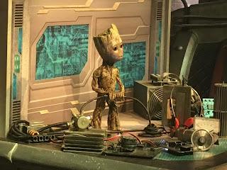 Baby Groot Animatronic