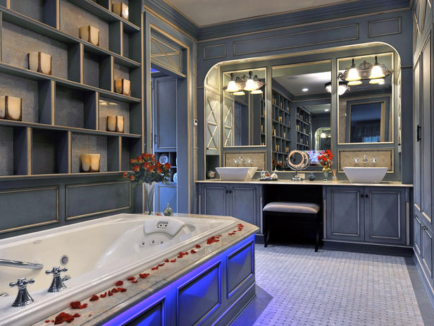 romantic bathrooms designs  home interiors
