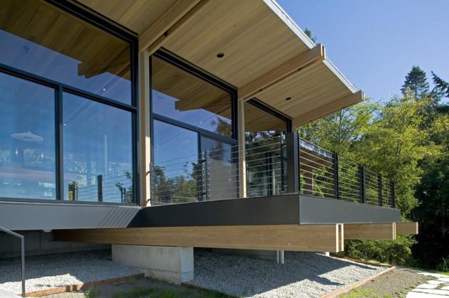 Desain Rumah Kabin Modern Kayu dan Kaca | Desain Rumah ...