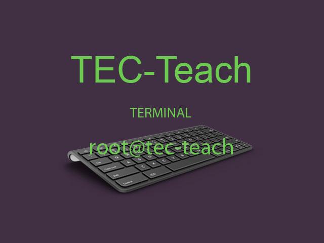 Tec-Teach: Make your linux terminal more beautiful
