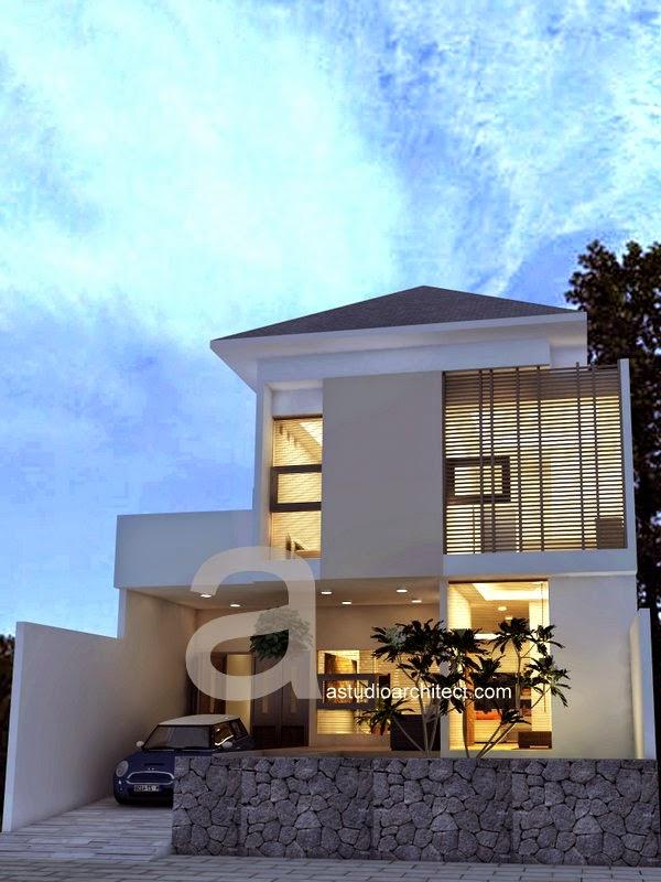 Desain rumah dijual kode 001
