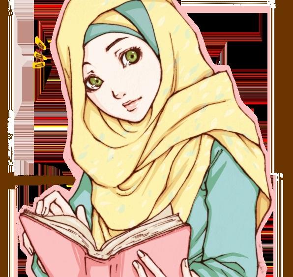 anime muslimah hijab ~ Muslim Wallpapers