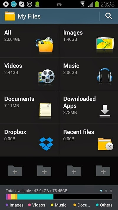 My File Galaxy Note 3