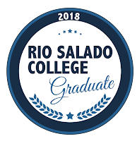 poster of Rio Salado College Graduate Badge
