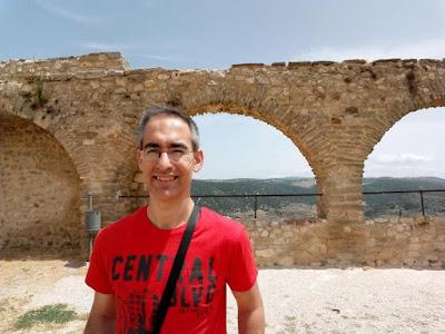 Plaza de armas del castillo de Morella