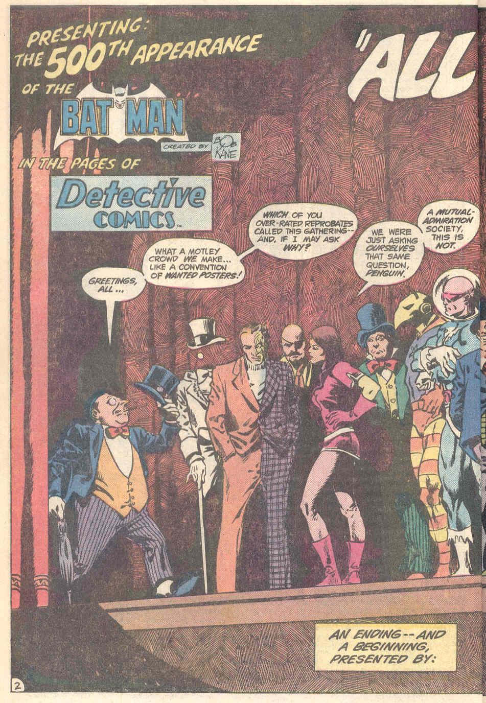 Detective Comics (1937) 526 Page 2