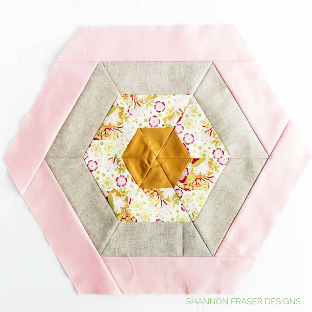 Hexie Pillow | Q4 2017 Finish-A-Long Proposed Quilt Projects | Shannon Fraser Designs | Modern Quilting | Quilt Community |